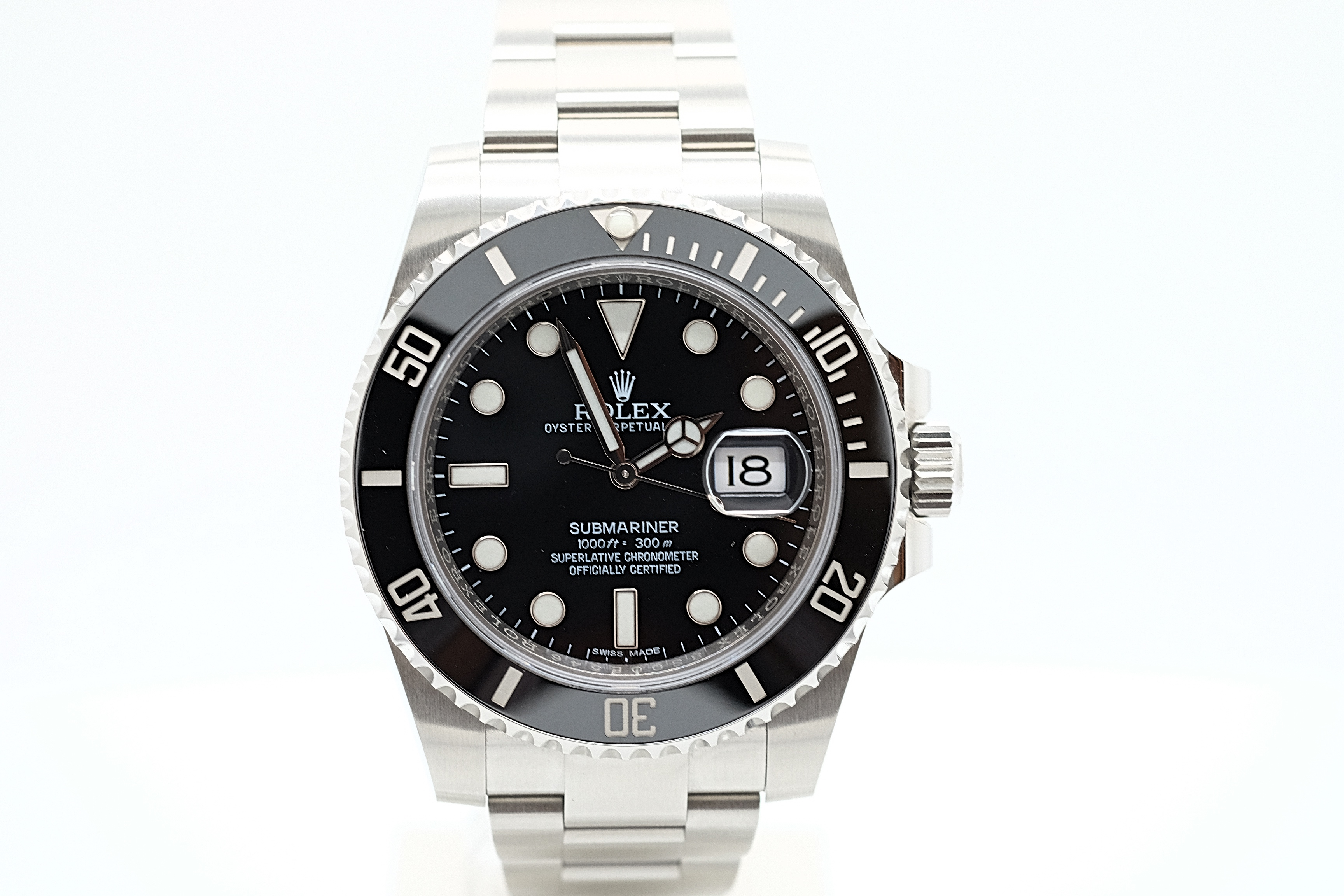 rolex submariner date 116610ln lc100 chronoberlin. Black Bedroom Furniture Sets. Home Design Ideas